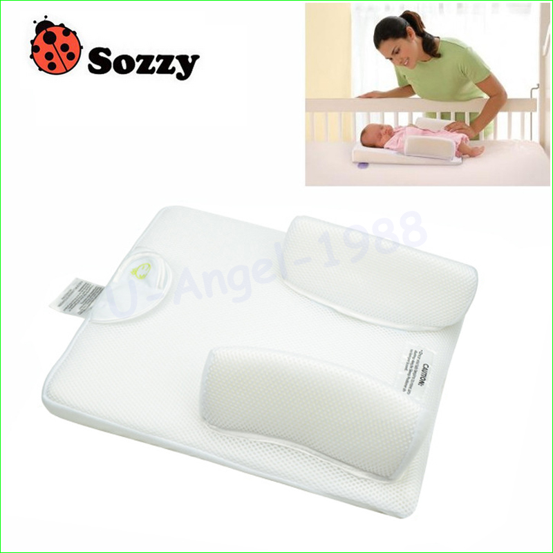 1pc Sozzy Comfortable Baby Sleeping Pad Pillow Baby Bed Shaping Pillow simple plain pillow 1pc