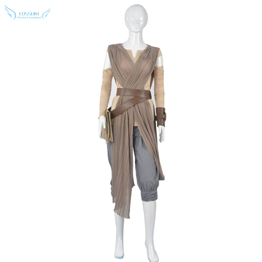 Star Wars: The Force Awakens Rey Cosplay Costume , Perfect Custom For You !