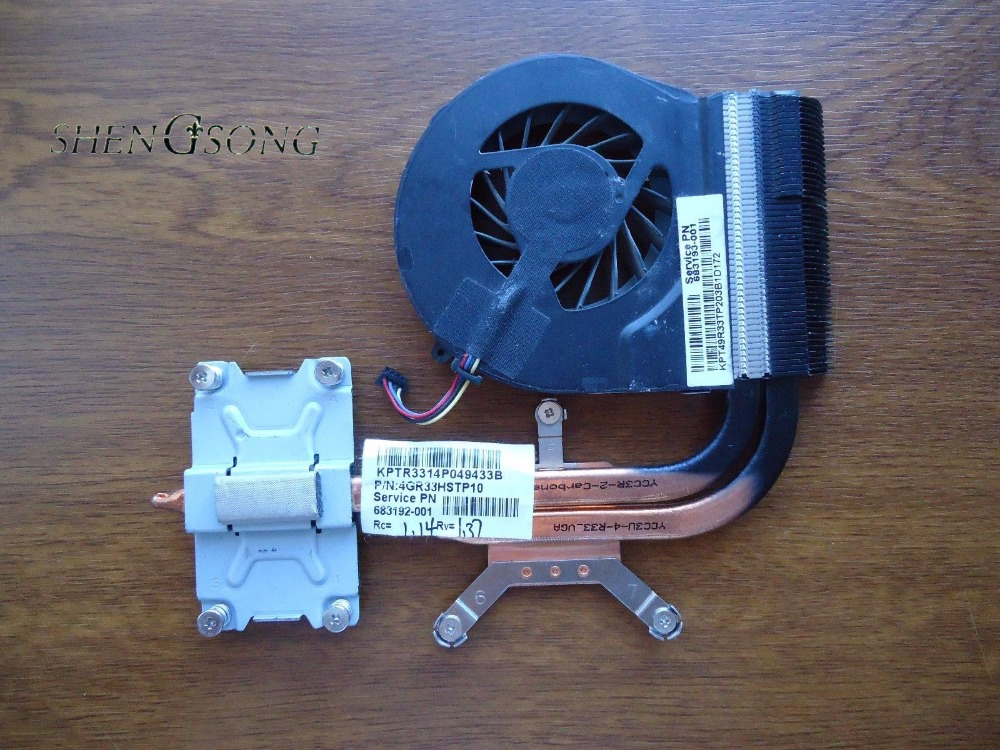 New Cooler for HP pavilion G4 G6 G7 G4-2000 G6-2000 cooling heatsink with fan 683192-001 685479-001 683028-001 683193 680550-001 chispaulo 14 inch genuine leather men bag men s travel bags tote business laptop crossbody fashion men s briefcase shoulder t745