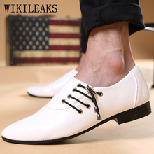 formal shoes men mens patent leather british style designer wedding dress oxford for heren schoenen