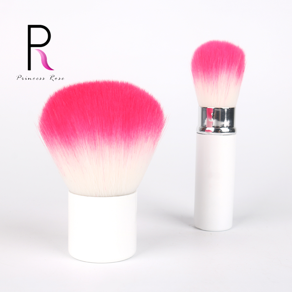 Kabuki Brush Retractable Brush Adjustable Foundation Blush Cream Powder Brush Metal Handle Make Up Brushes Makeup Tool BRD023 in Eye Shadow Applicator from Beauty Health