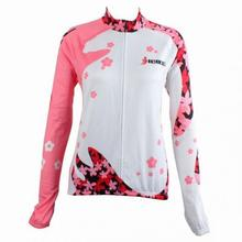Cycling Bike Bicycle Clothing Women Sports Wear Long Sleeve Jersey S 2XL CCF500