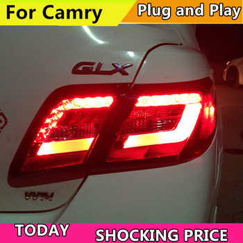 Car Styling Rear lamp for Toyota Camry USA Style LED Tail light 2006-2011 Camry 40 Taillight DRL+Reverse+Signal light Back lamp - DISCOUNT ITEM  20% OFF All Category