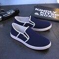 IVI venta Caliente nuevo Casual Hombres Zapatos Otoño Zapatos Mocasines Slip on Diseñador Pisos Hombres Zapatos de Lona Alpargatas Zapatillas