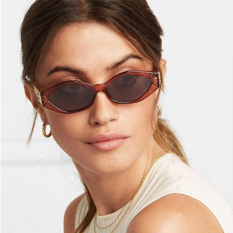 d49a7ab8a4d4c ... mimiyou Retro Cat Eye Sunglasses Women Golden Leopard Sun Glasses Lady Vintage  Fashion Glasses Shades Brand ...