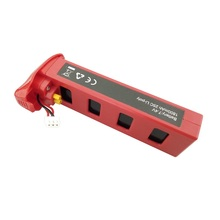 Red 7.4V 1800mah 25C Battery for MJX B2W B2C Brushless RC Drone Quadcopter replacement spare parts accessories