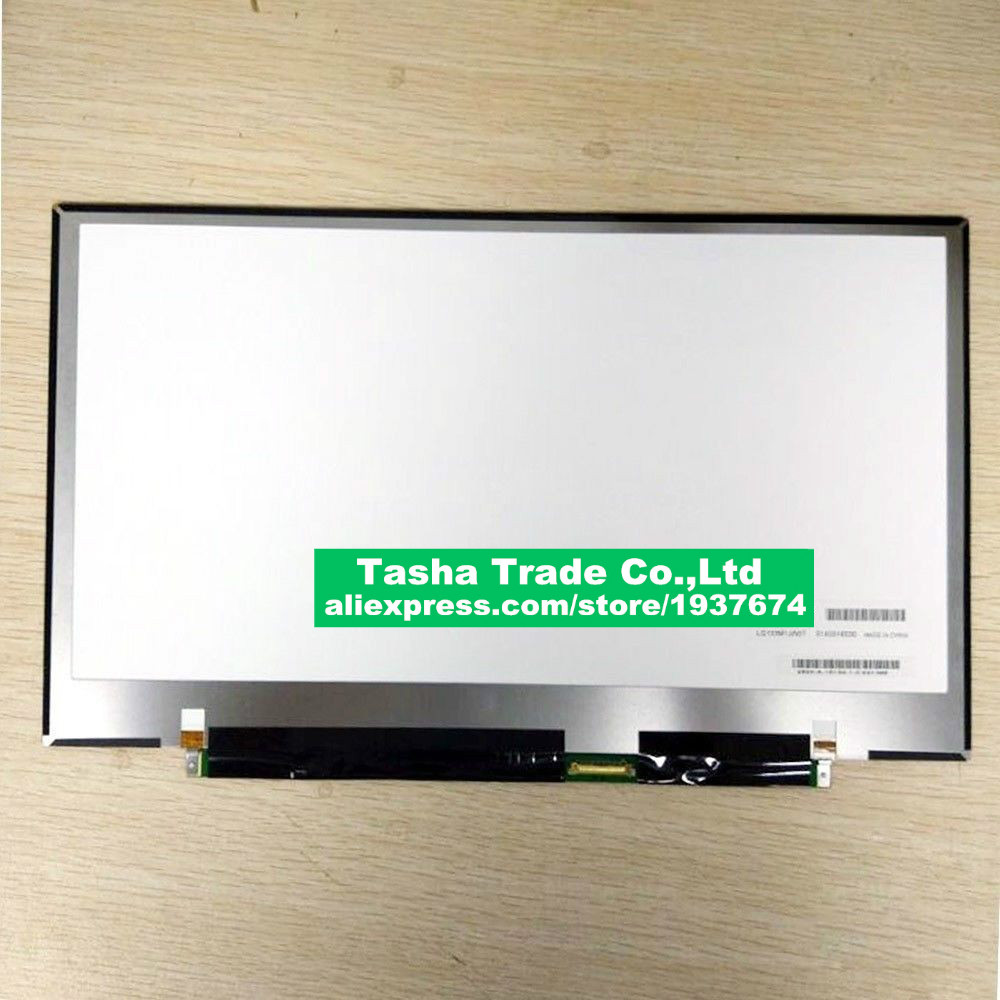 Laptop Lcd Screen 13.3 Led Lcd Screen For Sharp Lq133m1jw07 1920x1080 Fhd Edp30pin Rgb Display Panel