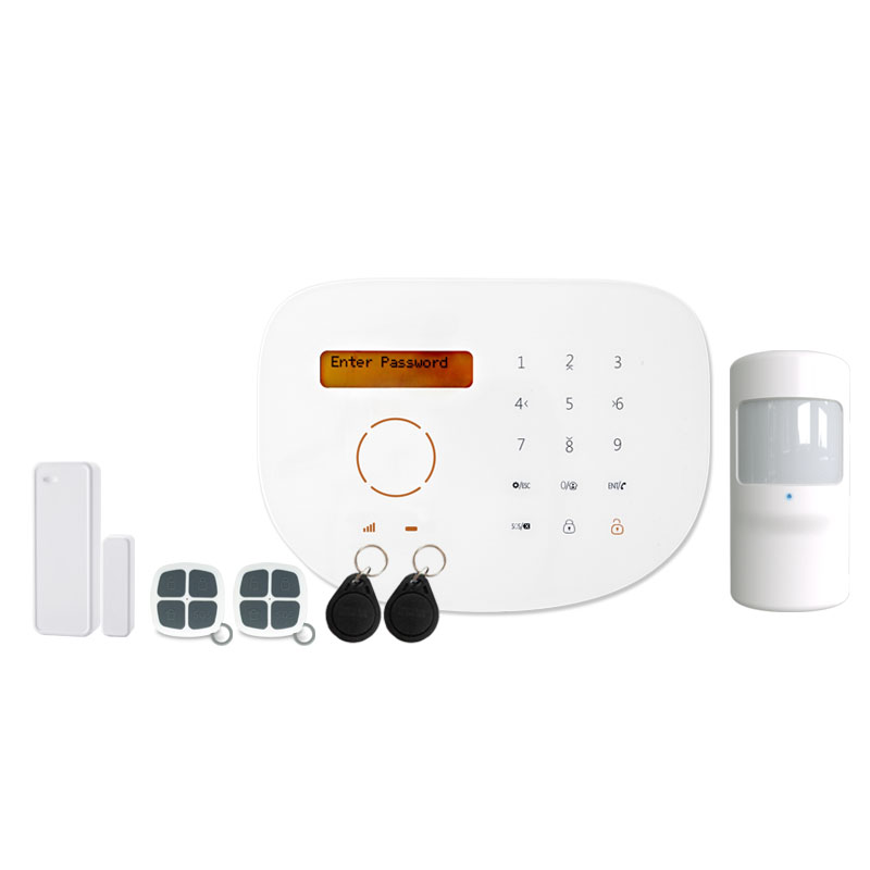 new house gsm security alarm system wireless support IP camera with APP RFID Spanish Italian English language free shipping free shipping hot selling new fashion wireless gsm alarm system 433 mhz 315mhz support english russian spanish language