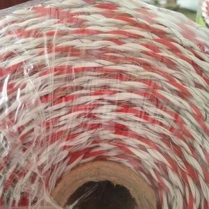 Image 4 - Полипроволока для электрического забора, 500 метров, красная, белая полипроволока со стальной проволокой, полипроволока для ограждения лошадей, очень низкая устойчивость, Лидер продаж