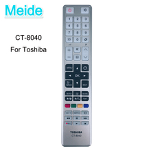 Nowy pilot zdalnego sterowania CT 8040 do telewizora Toshiba LED LCD 3D telewizji 40T5445DG 48L5435DG 48L5441DG CT8040 CT8035 CT984 CT8003