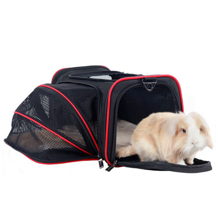 Light Convenient Portable Doggy Bag 600D Oxford Material Comfortable Cusions Steel Wire Frame Dog Crate Wear-resistant Dog cage