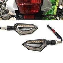 Nuevo Led señales de giro de motocicletas para Honda XL600 Fondo CBF1000/VT 750 VTX1300 NSR250 VFR/1200/F VT 1100 C espíritu VFR400