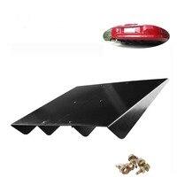 Suprimentos de ajuste de carro  barbatana de tubarão  defletor traseiro  chassi  barbatana de tubarão  acessórios para spoiler