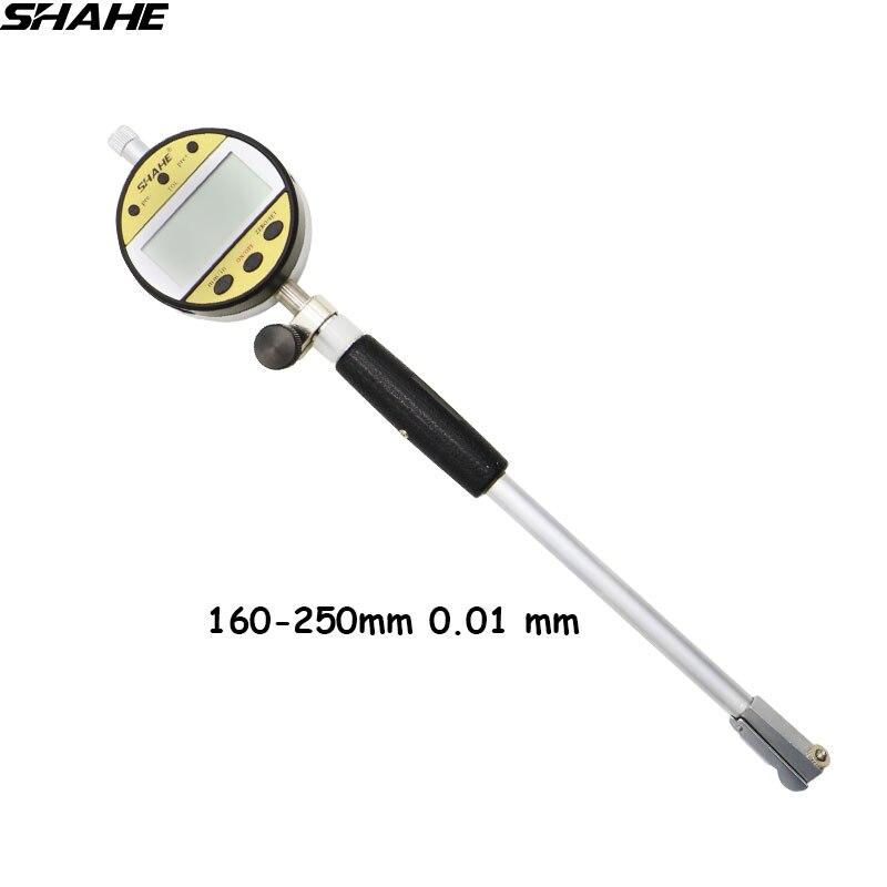 Shahe 160-250 mm 0.01 mm Digital Bore Measurement for Diameter bore gauge indicator 5336-250 переход 250 160