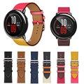 22mm Echtes Leder Uhr Band Strap für Xiaomi Huami Amazfit TEMPO Smart Uhr Ersatz Handgelenk band strap für amazfit tempo|Cleveres Zubehör|   -
