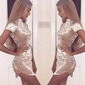 Сексуальная элегантный коротким Рукавом velvet dress женщины Тонкий Party Dress Sexy Клуб Платье дамы Bodycon party club Платья