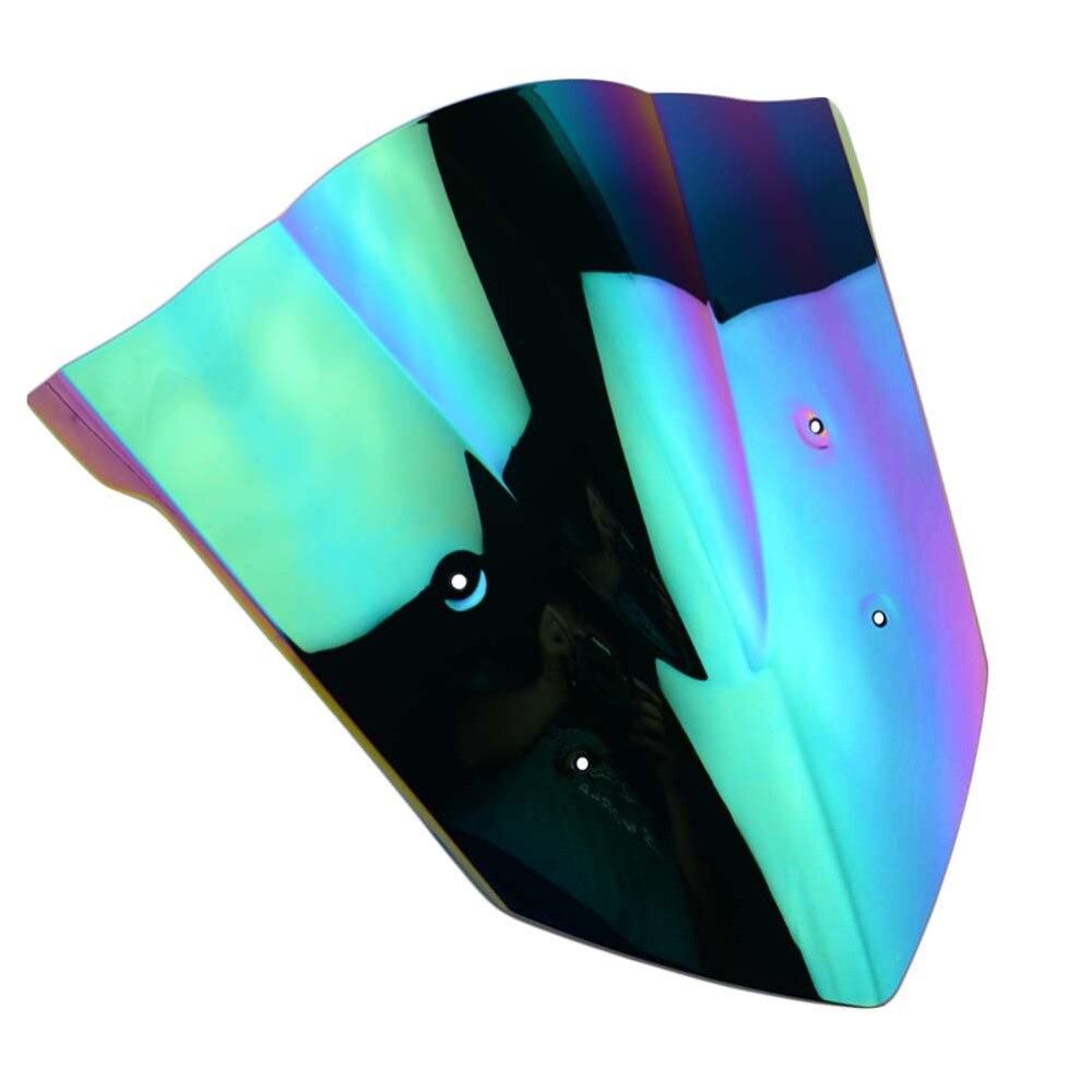 Iridium Double bulle pare-brise pare-brise panneau capot carénage pour moto pare-brise Honda CBR650F 2014-2017 2015