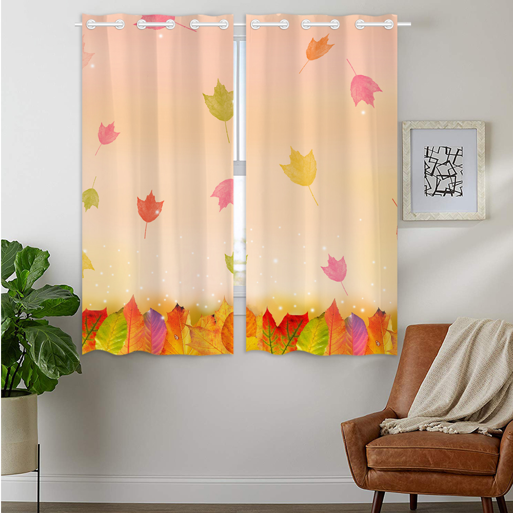 check MRP of orange thermal curtains