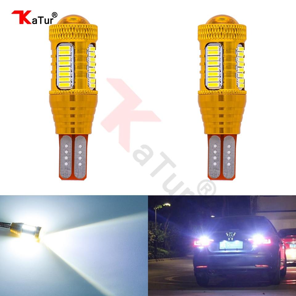 Katur 2 pcs T15 W16W Led Lampu Untuk Mobil 4014 32smd + 1smd Canbus - Lampu mobil - Foto 1