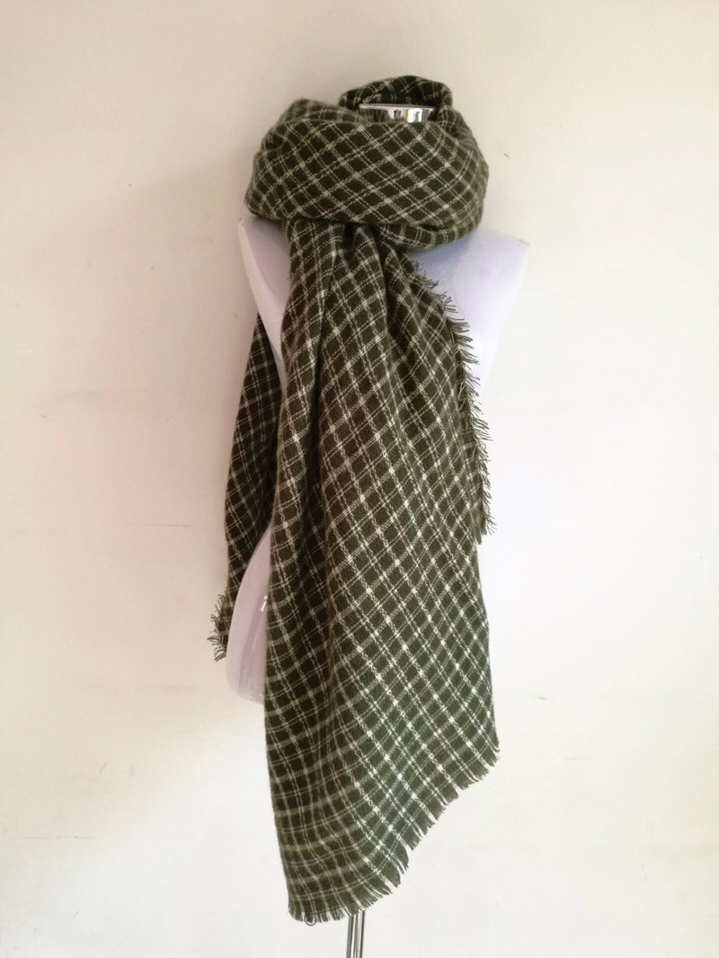 Oversize Plaid Blanket Scarf | Blanket Scarves | Upto 60% Off Now