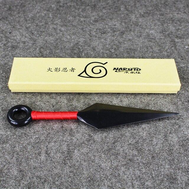 13cm/26cm Four Styles New Arrival Anime Naruto Plastic Kunai Japanese Ninja Cosplay Weapon Props Boys Great Gift Plastic Toys 3