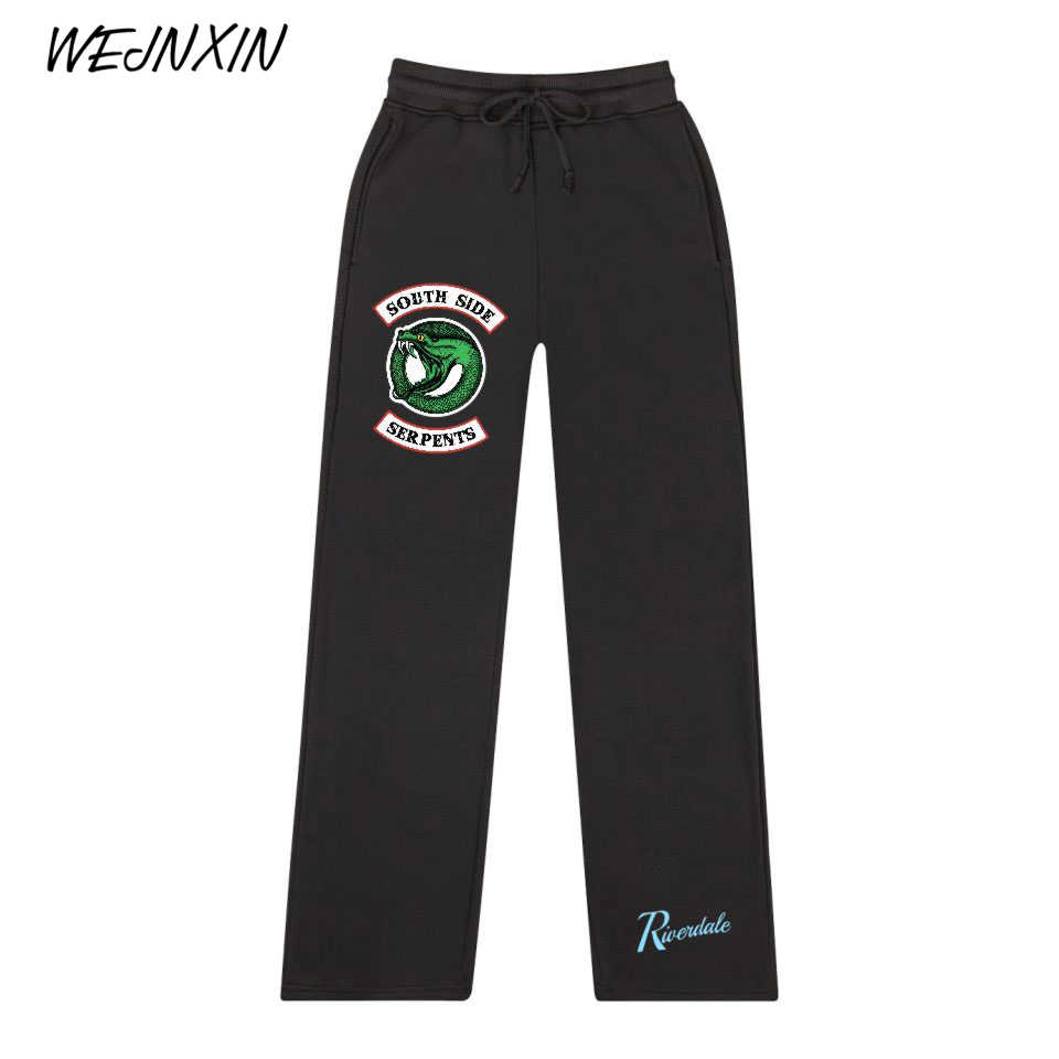 WEJNXIN Riverdale Loose Sweatpants Men Women Streetwear Hip Hop South Side Serpents Clothing Funny Sweatpants Children's Pant