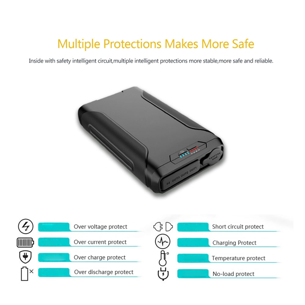 Portable Charger 60000mah Waterproof External Battery Backup Energy Management For Schematic Powerbank 60000 Mah Phone Emergency Power Bank In From Cellphones