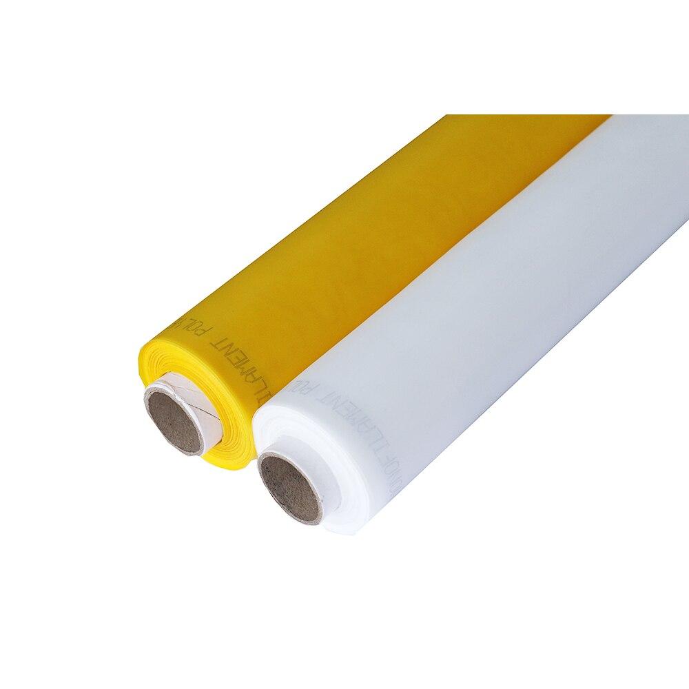 120 T 300 Mesh 40UM 165 CM Gelb 20 Meter Polyester siebdruck mesh schablone stoff-in Fliegengitter aus Heim und Garten bei  Gruppe 3