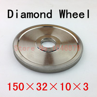 Electroplated Diamond Grinding Wheel Of High Quality The Shape Is Flat Hard Abrasive Material 150 32