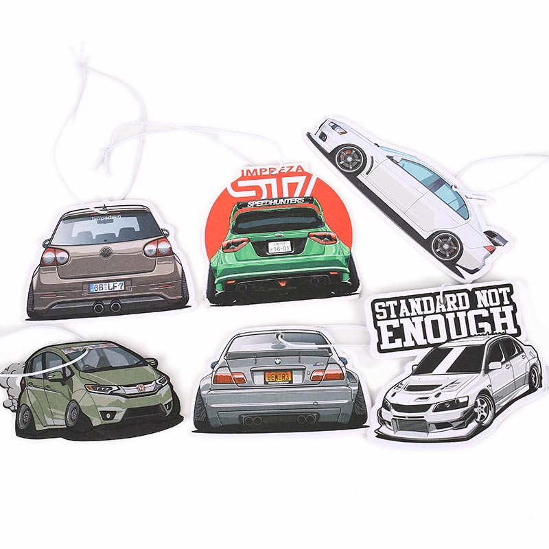 Air-Freshener Mirrow Ice-Smell Jdm-Style Solid-Paper Rear-View Pendent Tuning-Sport-Cars