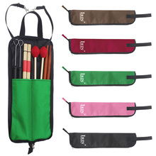 Water-resistant Oxford Cloth Percussion Drum Sticks Beaters Bag Holder Organiser Sticks Sheet Music Straps Collect Bag music jinbao musical sticks rack t 1 d stool drear drum chair percussion factory genuine