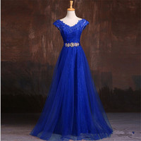 2015 Elegant Long Beautiful V Neck Formal Mother Of The Bride Dubai Kaftan Red Wine Purple