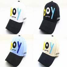 Fashion Children' Baseball Hat Outdoor Sunscreen Creative Embroidery BOY Kids Boy Caps Adjustable Comfortable Baseball Hats цена