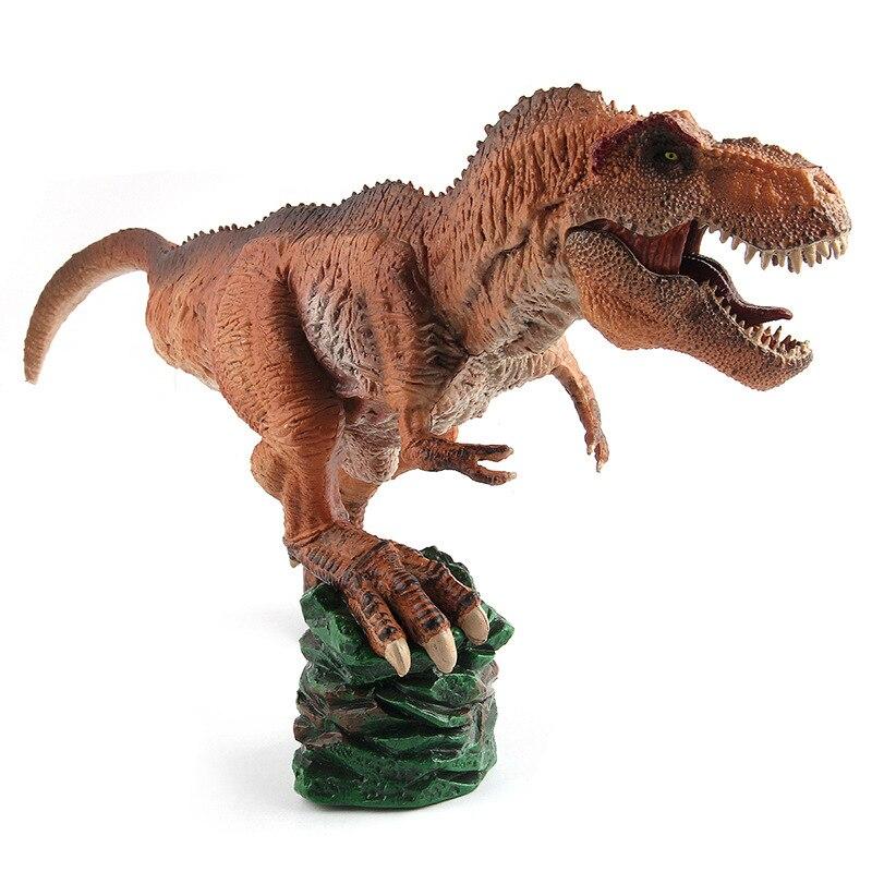 Jurassic Dino World arrogance Kaiser Dragon Solid model figure teaching Collection Childrens birthday Gift model toys