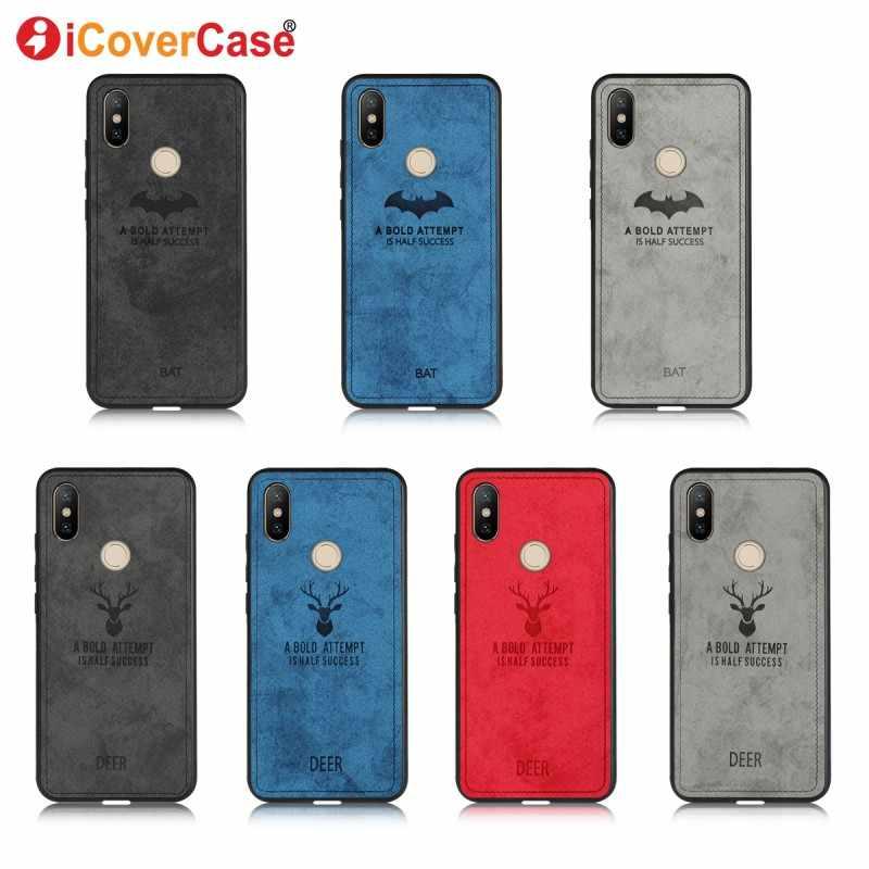 best service 687c4 da245 Luxury Batman Christmas Deer Cloth Case For Xiaomi redmi 6 pro 6a 5 plus 5a  s2 Case Silicone redmi note 5 pro 4 4x 5a prime Case