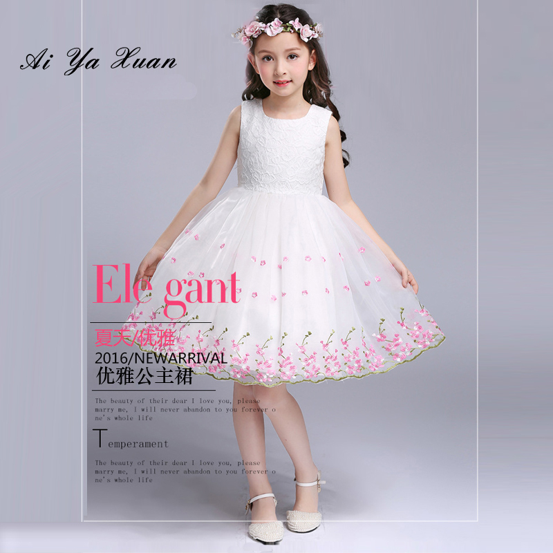 AiYaxuan Princess Newborn Dress For Baby Girl Christening Gown Birthday Outfits Children Wedding Dresses Girl Kids Party Wear