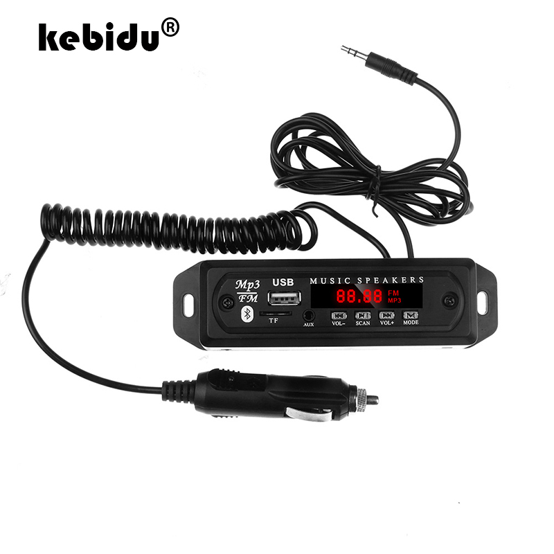 US/_Car Speaker Module FM Radio USB SD-Card Wireless Bluetooth MP3 Decoder Board