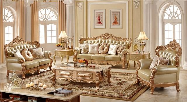 Lujo europeo muebles sala muebles de casa comprar una for Muebles industriales sala de estar