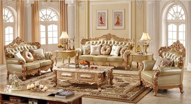 Luxe europese woonkamer meubelen meubelen inkoop een stop oplossing ...