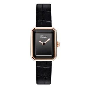Image 1 - EIMA Top Luxury Women Leather Strap Quartz Wristwatch Fashion Casual Lady Watches Feminino Relojes