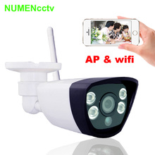 NuMenWorld Wireless IP cam 720P SD HD P2P 802.11b/g/n wifi network Wired IP Camera IR Outdoor Waterproof Camera IP ABS Plastic