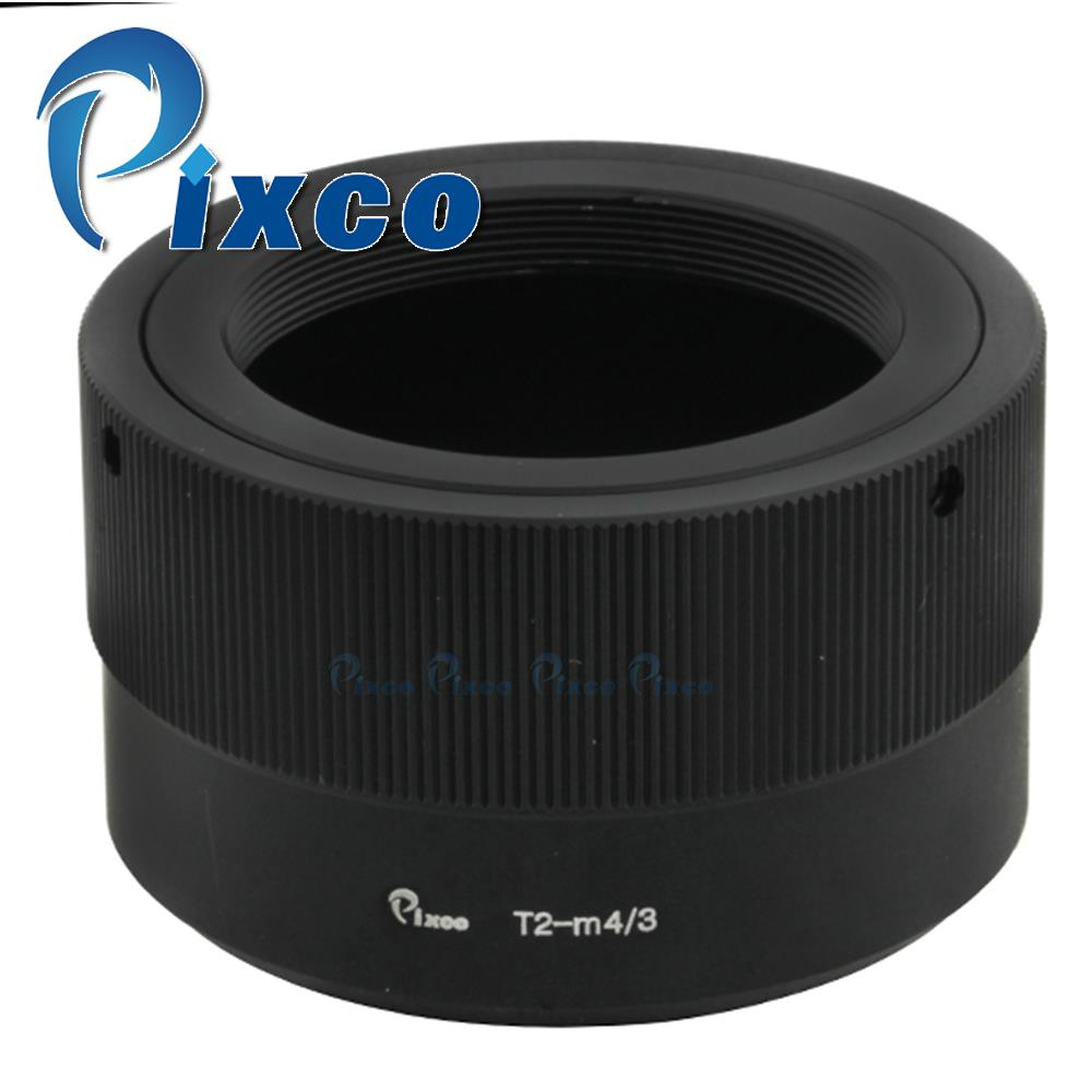 Pixco Lens Adapter Ring Suit For T2 T-2 Mount Lens to micro 4/3 M4/3 M 43 GF6 GH3 G5 GF5 GX1 EPL2 OM-D E-M1 E-M5 E-PL3 E-PM1