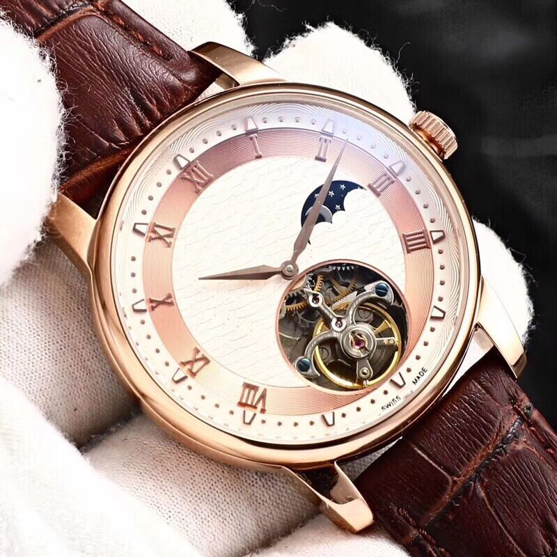 WC0852 Mens Watches Top Brand Runway Luxury European Design Automatic Mechanical Watch
