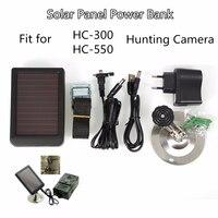 Suntekcam HC300M HC350M HC550M HC550G HC700G External Solar Powered Panel Charger for Hunting Camera Photo Traps Power Supply