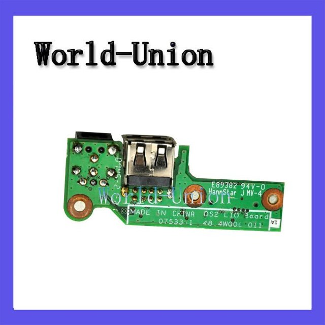 Genuine Power Jack board DC USB 48.4W006.021,100%working