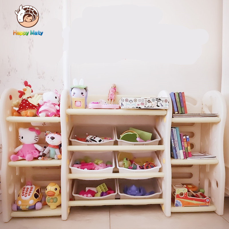 Baby Bedroom In A Box Special: Happy Maty Kids Baby Toy Shelf Toys Organizer Childrens