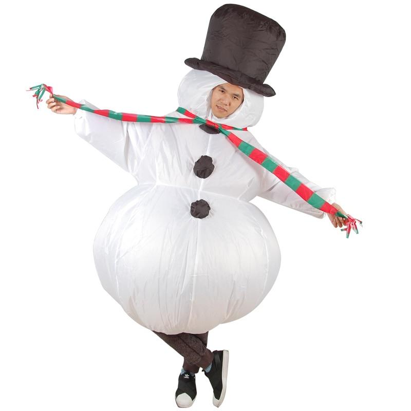 Mr Snowman Adult Men Christmas Xmas Fancy Dress Party Costume Outfit