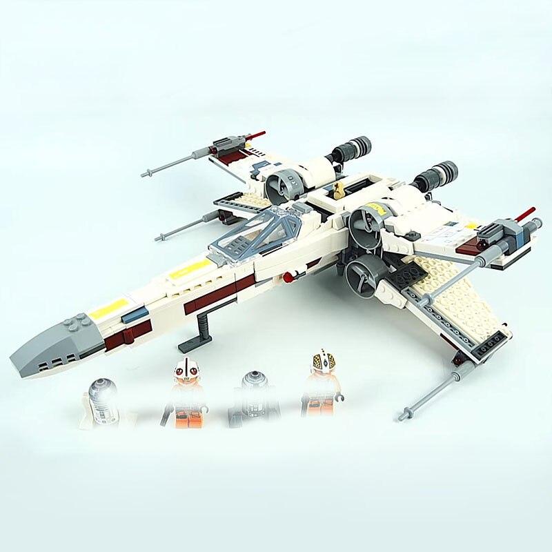 Lepin-05145-Starwars-Fighter-Star-Plan-Wars-X-75218-Wing-Starfighter-Model-Set-Building-Blocks-Bricks (3)