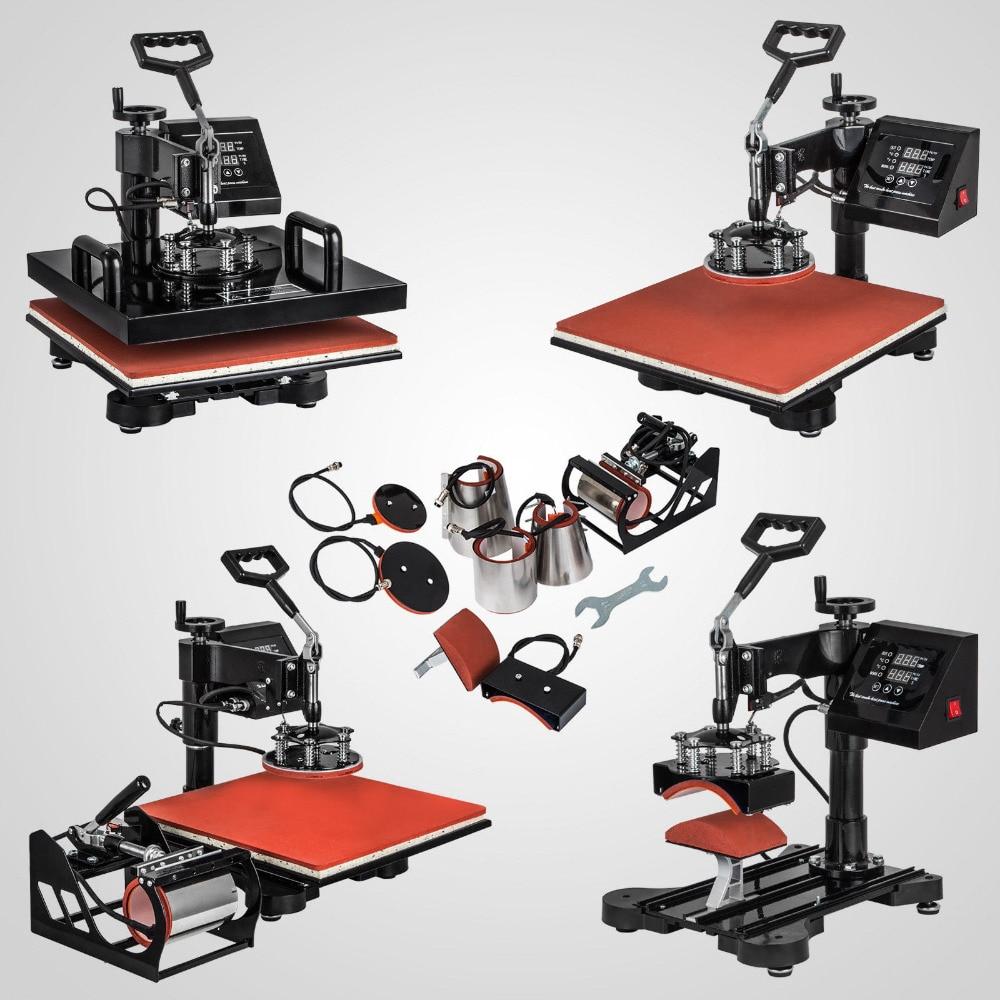 8IN1 30x38cm Heat Press Swing Away Heat Press Machines Digital