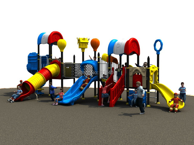Pepsi House Series Children Outdoor Play Structure CIT 14036A